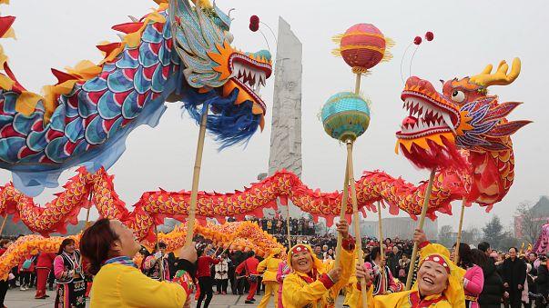 Çin Yeni Yılı dünyanın dört bir yanında kutlanıyor