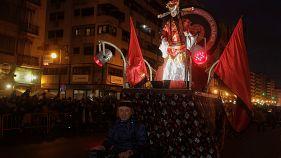 Εορτασμοί σε όλο τον κόσμο για το κινεζικό νέο έτος