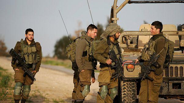 سربازان اسرائیلی در نزدیکی مرز با نوار غزه