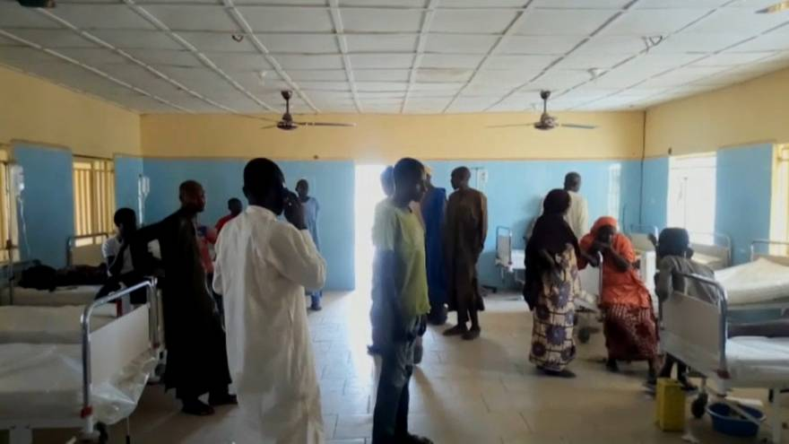 Local hospitals dealth with victims' of Friday's triple suicide attack