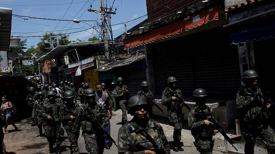 Brazil's military takes charge of Rio as gang violence spirals upwards