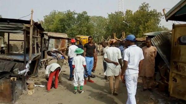 Nijerya'da intihar eylemcileri pazar yerini hedef aldı