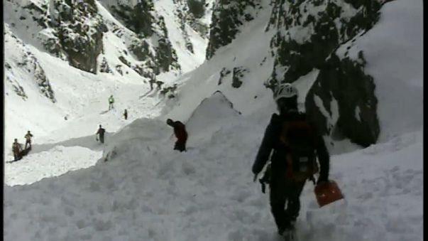 İtalya Alpleri'nde çığ felaketi