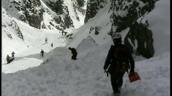 Mueren dos alpinistas en una avalancha en el norte del Italia
