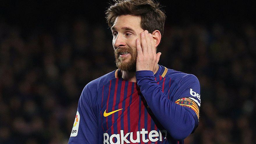 كرة القدم - كأس الملك الاسباني نصف النهائي الأول - برشلونة، إسبانيا