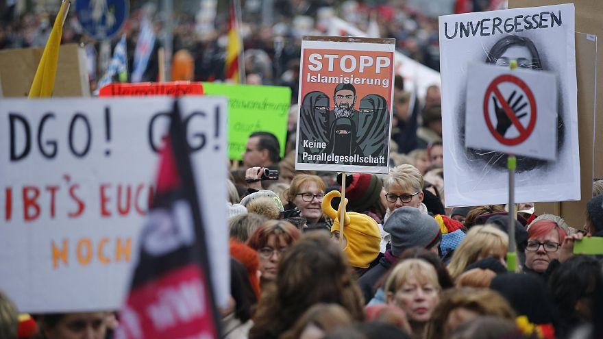 Berlino: tafferugli alla marcia dell'AfD