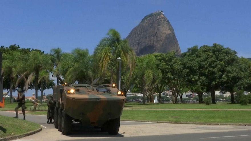 Brezilya: Rio de Janeiro'nun güvenliği orduya emanet