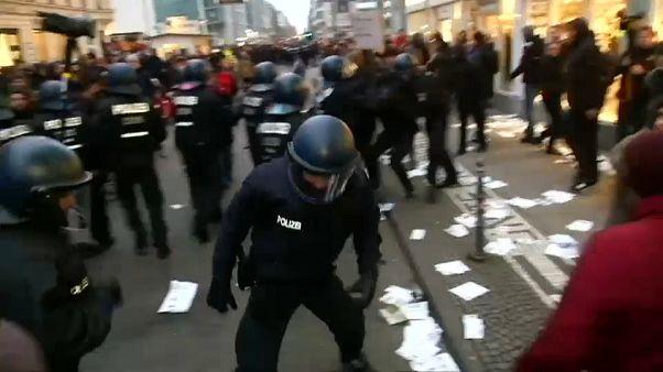 Манифестации в Берлине