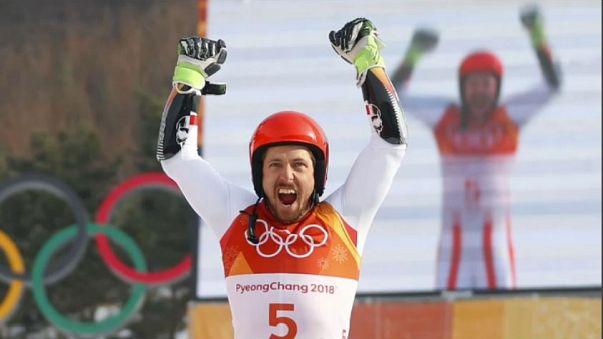 Hirscher Oro nel Gigante di PyeongChang