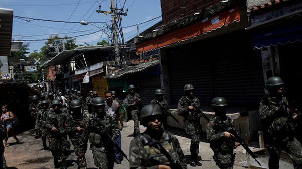 L'armée en charge de la sécurité à Rio