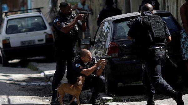 A katonaság figyel a biztonságra Rióban