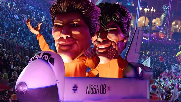 'Uzay'ın Kralı' temalı Nice Karnaval'ına  büyük ilgi