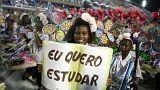 Ρίο ντε Τζανέιρο: Η παρέλαση των «πρωταθλητών της Σάμπα»