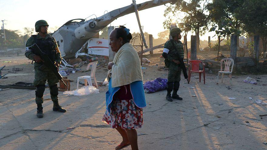 Mexique : l'hélicoptère d'un ministre s'écrase sur des habitants