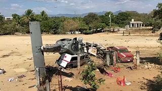 Realizados funerais de vítimas de queda de helicóptero no México