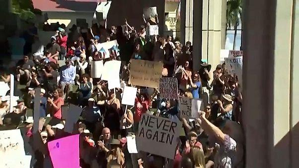 Florida: la protesta contro le armi