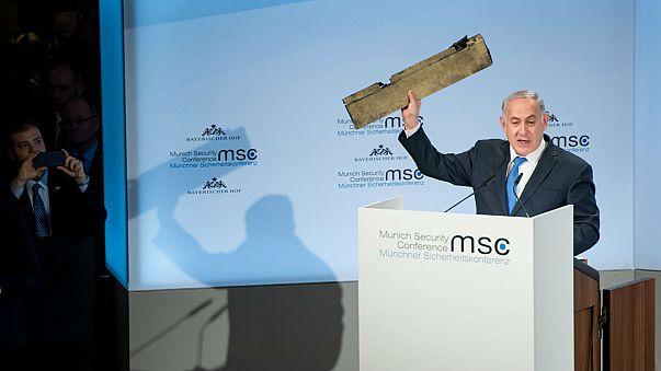 Netanyahu says Iran sent a drone into Israeli airspace