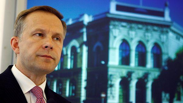 Letartóztatta a lett korrupcióellenes ügynökség a jegybankelnököt