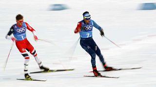 Российские лыжники выиграли серебро в эстафете