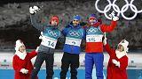 Martin Fourcade hace historia en los Juegos de Pyeongchang