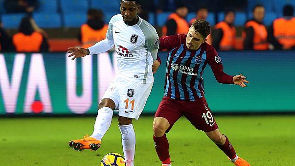 Başakşehir zorlu Trabzon deplasmanından 3 puanla döndü
