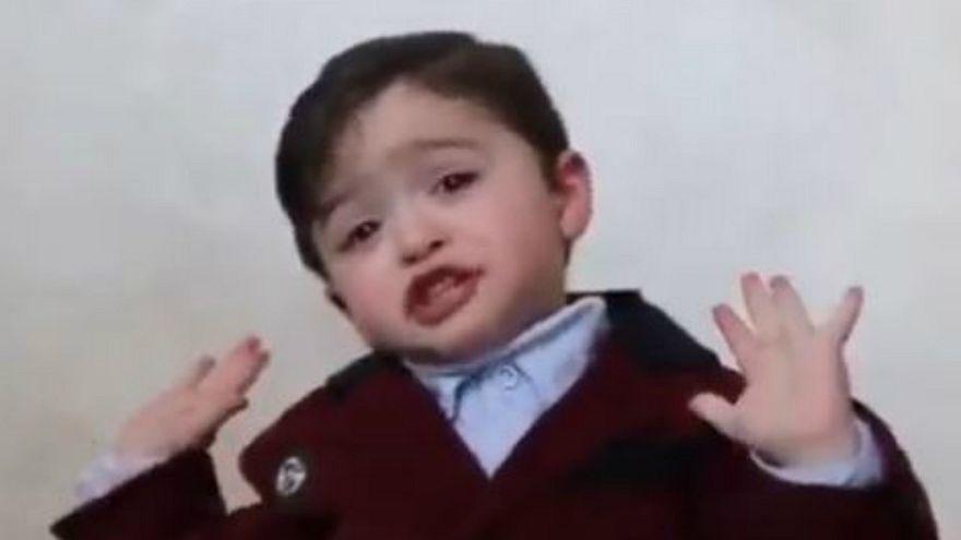 شاهد: طفل فلسطيني يطالب العالم بمساندة أطفال القدس