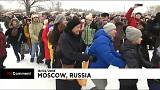 Rusia celebra la fiesta de los crepes, que da paso a la Cuaresma