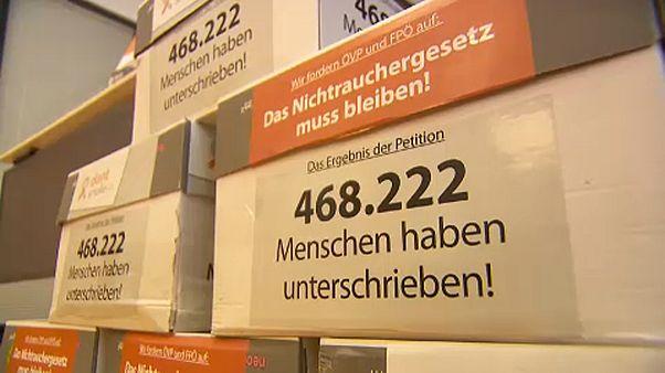Betiltanák a dohányzást az osztrák vendéglátóhelyeken