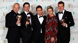 Dark comedy Three Billboards scoops most prizes at BAFTAs
