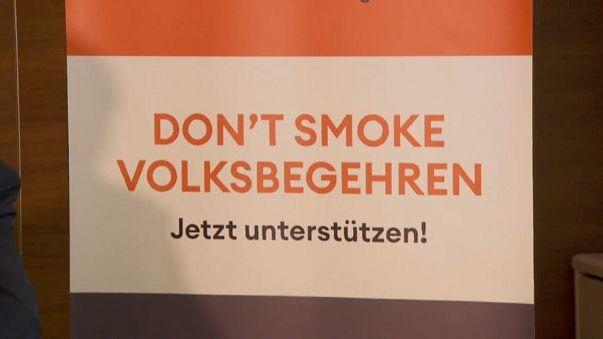 Avusturya'da sigara yasağı için binlerce imza