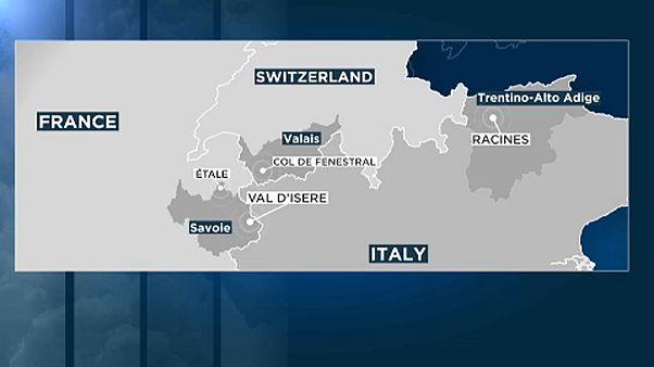 Három embert sodort el a lavina Franciaországban
