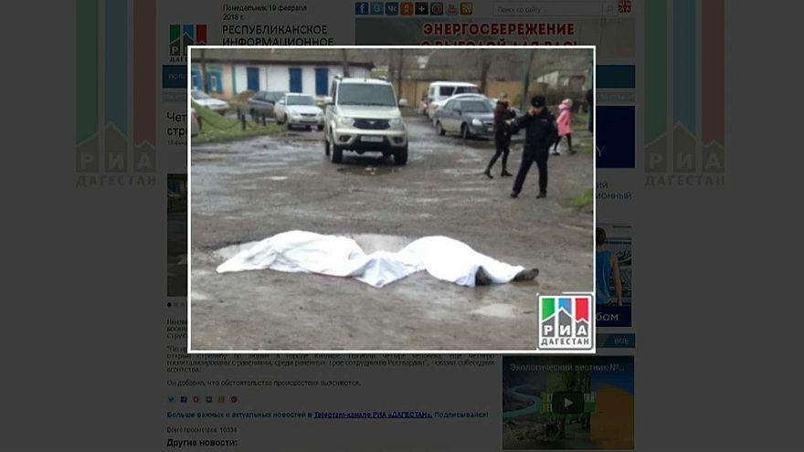 Rusya'da IŞİD sivillere ateş açtı: 5 ölü