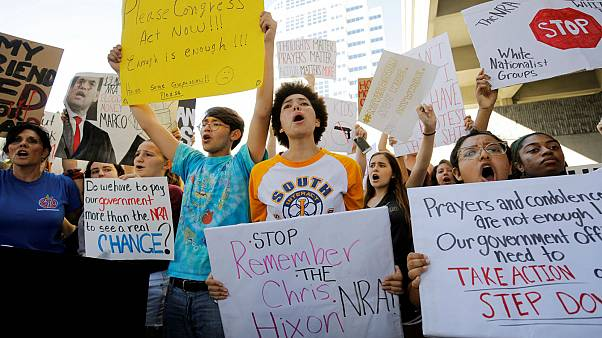 March for Our Lives: US students plan protests over gun laws