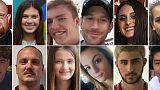 Hommage aux 17 victimes massacrées en Floride