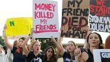 """""""Schämen Sie sich"""": Schüler kritisieren Trump und Waffenlobby"""
