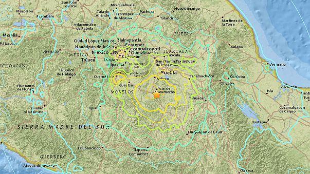 Un seísmo de magnitud 6 sacude el centro y sur de México sin causar víctimas
