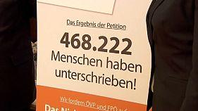 Autriche : la pétition fait un tabac