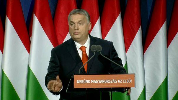 Виктор Орбан клеймит миграцию