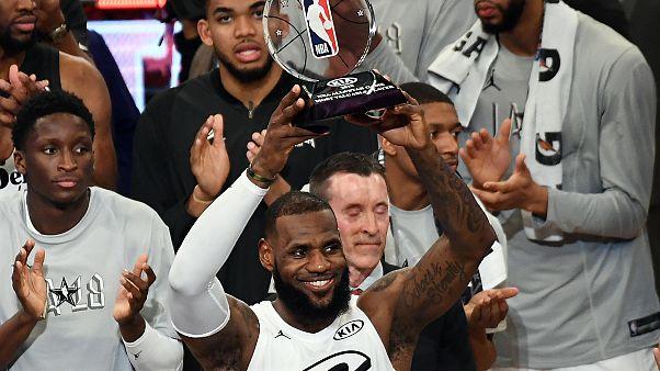 Lebron James csapata nyerte az NBA All Star-gálát