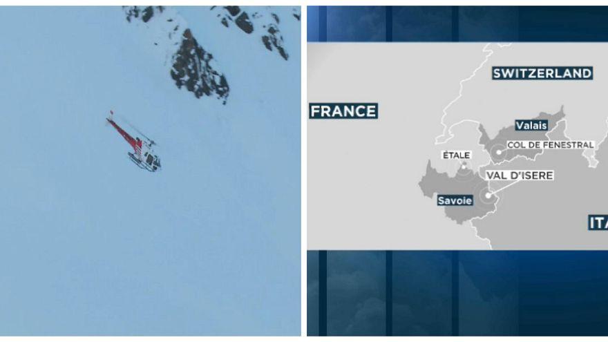 الشرطة السويسرية تنجح في إنقاذ شخصين من انهيار ثلجي