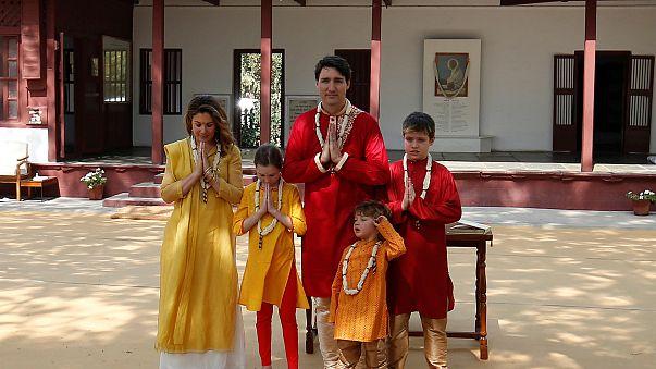 Justin Trudeau en Inde