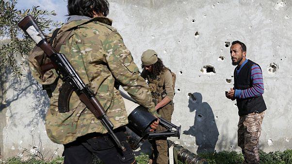 Сирийские войска идут в Африн