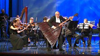 En iyi müzisyenler 11. Uluslararası Kış Sanat Festivali'nde bir araya geldi.