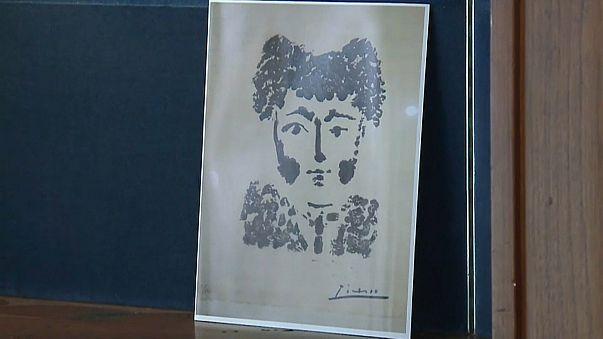 سرقة لوحة أصلية للفنان بيكاسو