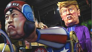 Carnival 2018 highlights: Trump shoots Kim Jong-un out of cannon and more