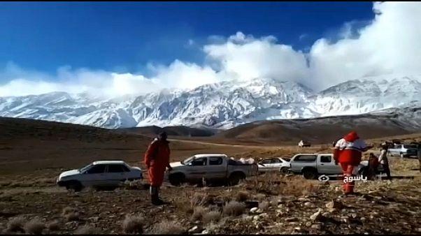İran: Düşen uçağın enkazına ulaşıldı