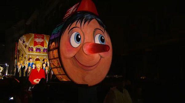 Lámpások karneválja Bázelban