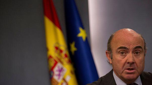 El español, Luis de Guindos, virtual vicepresidente del BCE