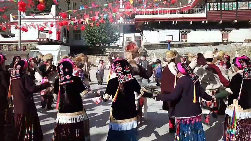 Celebrating Tibetan New Year