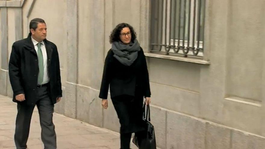 La dirigente independentista catalana Marta Rovira, en libertad bajo fianza